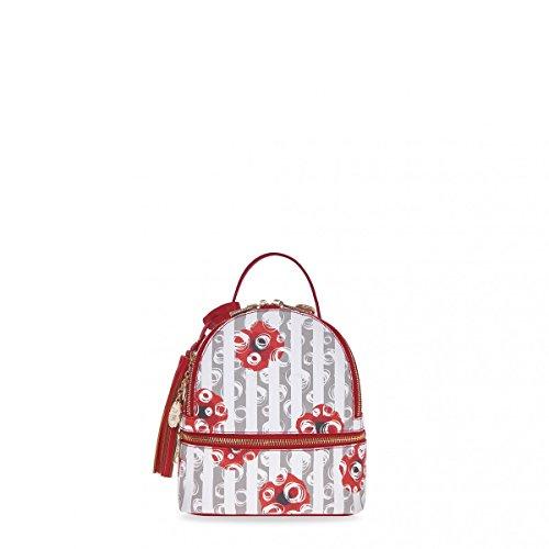 pash bag Bolso al hombro para mujer Rojo rojo Larghezza: 17, Altezza: 21, Profondità: 9cm