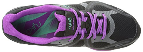 Black Aqua Ryka Influence Cross Plum Shoe Training Women's Vivid Sugar 4qXgzqCw