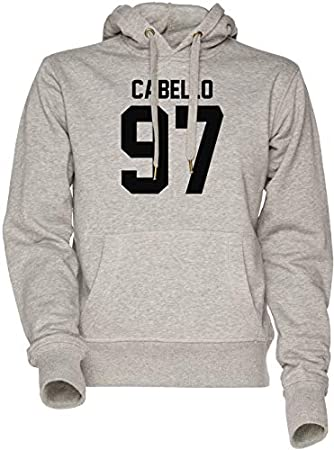 Vendax #FIFTHHARMONY, Camila Cabello Unisexo Hombre Mujer Sudadera con Capucha Gris Men's Women's Hoodie Sweatshirt Grey