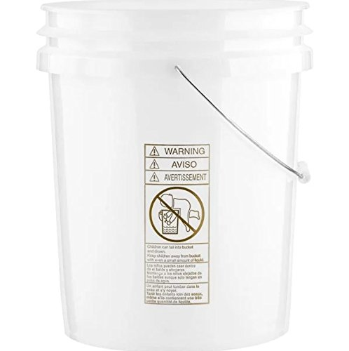 Natural Pail w/Baby Label