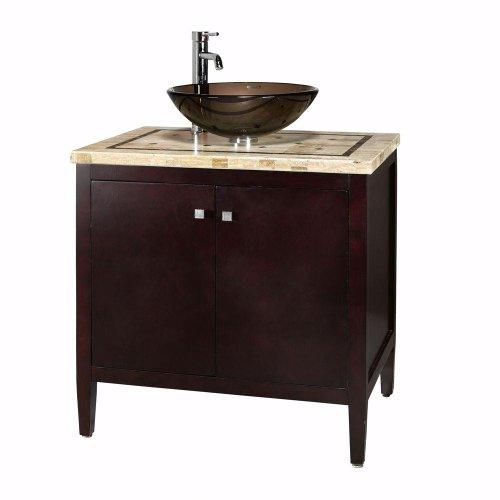 "Argonne Bath Vanity, 38""Hx31""Wx22""D, ESPRESSO"