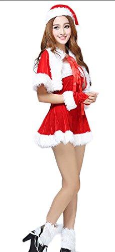 GAGA womens Plus Size Santa Claus Sweetie Costume 17 (Repunzel Adult Costume)