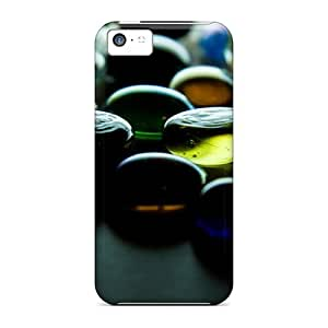 Cute High Quality Iphone 5c Colorful Glass Case