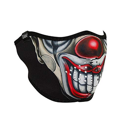 ZANheadgear WNFM411H ZanHeadgear Neoprene Half Face Mask Chicano Clown ()
