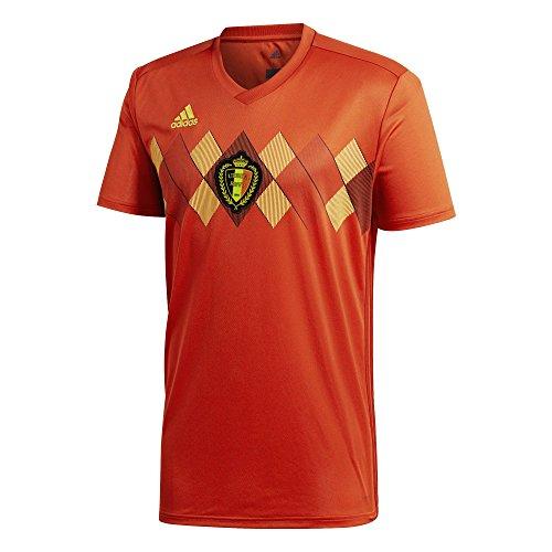 (adidas Belgium Home Soccer Jersey World Cup 2018 (L))