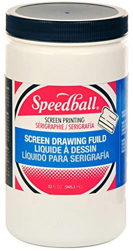 Speedball Non-Toxic Water Soluble Screen Drawing Fluid, Quart