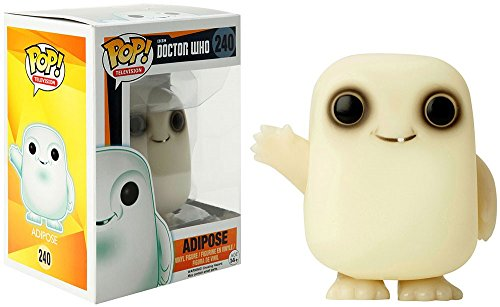 Funko - Figurine Doctor Who 11e - Adipose Glow in the Dark Exclu Pop 10cm - 0849803057848