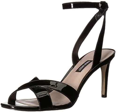 ca4eb5b4423 Nine West Women s Apryle Patent Heeled Sandal