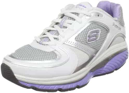 Shopping White or Blue Skechers Fashion Sneakers Shoes