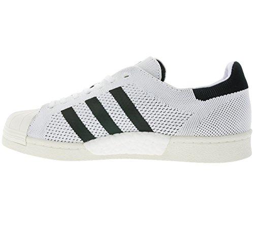 Superstar Adidas Degli 3 Dimensione Uomini Bb0190 Primeknit Spinta 2 Originals Bianche Formatori 46 ZHwa1q