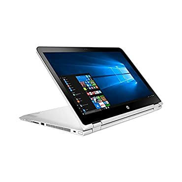 HP Pavilion X360 15.6 Full HD Touchscreen 2-in-1 Convertible Laptop PC, 7th Gen Intel Core i5-7200U, 8GB DDR3 RAM, 1TB Hard Drive, Bluetooth, Windows 10