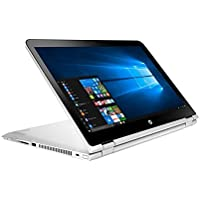 HP Pavilion x360 Convertible 2-in-1 15.6' Full HD Touchscreen High Performance Laptop PC, Intel Core i5-7200U Dual-Core, 8GB RAM, 1TB HDD, B&O PLAY, WIFI, Bluetooth, Windows 10