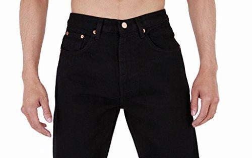 Da Fit Uomo Gamba Base Black Resistente Jeans Regular Dritta Aztec nFUwaHqf6F