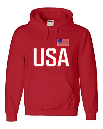 Adult USA National Pride Sweatshirt Hoodie