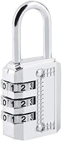 Top Safety Steel Cadenas /à combinaison cadran 3//4 Porte /à casier Bo?te /à outils Valise Valise Verrou Prot/égez votre propri/ét/é Argent