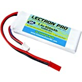 COMMON SENSE RC Lectron Pro 7.4V 950mAh 30C Lithium Polymer Battery with JST Connector for Blade 200 QX Quadcopter and Blade CX, CX2, CX3 Helicopter