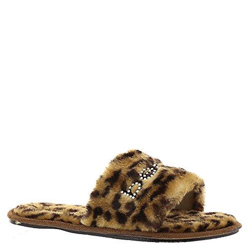 Women's Slipper bebe Slipper Charlena Charlena Women's bebe Leopard BZFIv