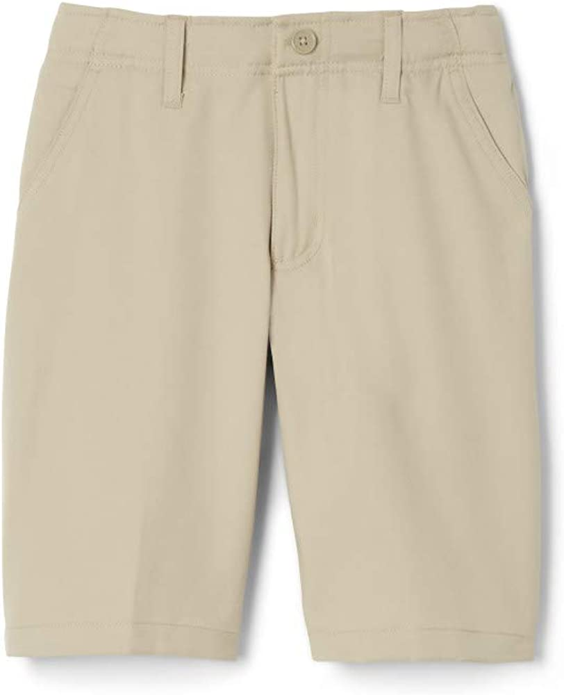 French Toast Boys Flat Front Performance Stretch Short