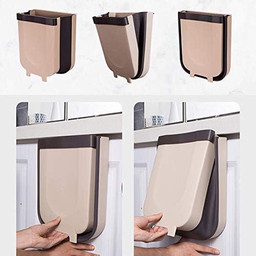 Voiture Chambre /à Coucher Porte Kaki IXVXI Poubelle Pliable /à Fixation Murale pour Placard de Cuisine Chambre /à Coucher tiroir 1 pi/èce