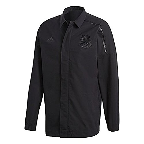 adidas FMF Mexico ZNE Woven Jacket World Cup 2018 - Black (M) (Mexico Soccer Jacket)