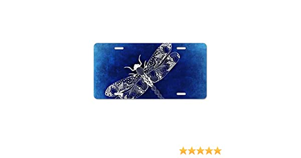 Zogpemsy Beautiful Hunt Dog and Bird License Plate Frames Alumina Car Licence Plate Covers 4 Holes