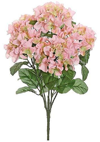 Select Artificials Hydrangea Bush X5, 22