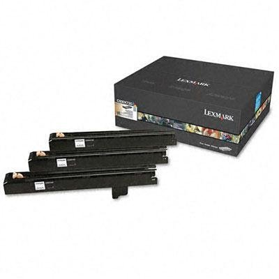 Lexmark - C930x73g Photoconductor Kit 3/Pack Product Category: Imaging Supplies And Accessories/Copier Fax & Laser Printer Supplies by Original Equipment Manufacture