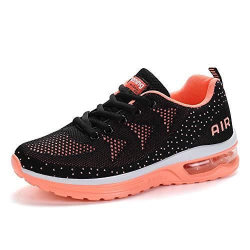 46EU Schwarz Damen Sports Straßenlaufschuhe Laufschuhe Sneaker Outdoors Air Pink Fitness Sportschuhe Farben Axcone Sneaker Viele 36EU Herren Running Turnschuhe Twa5HH