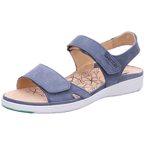 Ganter Vrouwen Gina-g Open Sandalen Blauw (jeans)