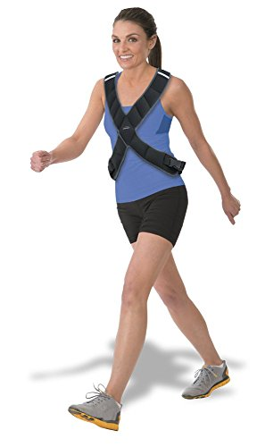 Empower Weighted Vest for Women, 8lbs, Running, Walking, Cardio, Crossfit, 8 Pounds