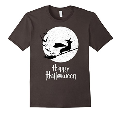 Halloween Costumes For Dogs Wiener (Mens Witch T-shirt Gifts For WIENER Dog Lovers Large)