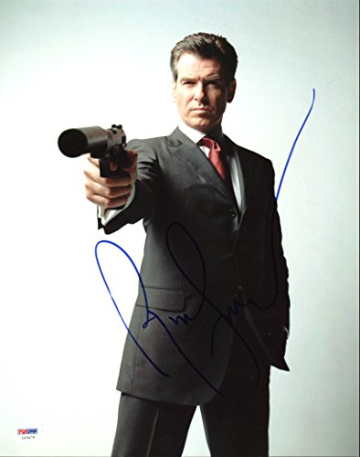 - Pierce Brosnan James Bond 007 Authentic Signed 11X14 Photo PSA/DNA #U23478