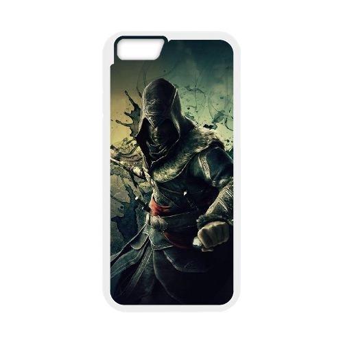 Ezio Auditore Da Firenze 001 coque iPhone 6 Plus 5.5 Inch Housse Blanc téléphone portable couverture de cas coque EOKXLLNCD15892