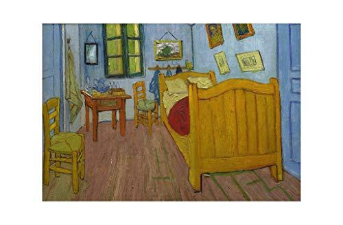 Music Poster Vincent Van Gogh - La Chambre a Coucher Arles 1888 Print 61x91.5cm