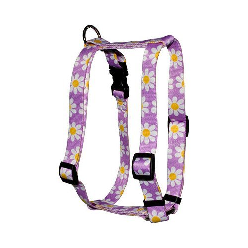 man Harness, X-Small, Lavender Daisy (Daisy Dog Harness)