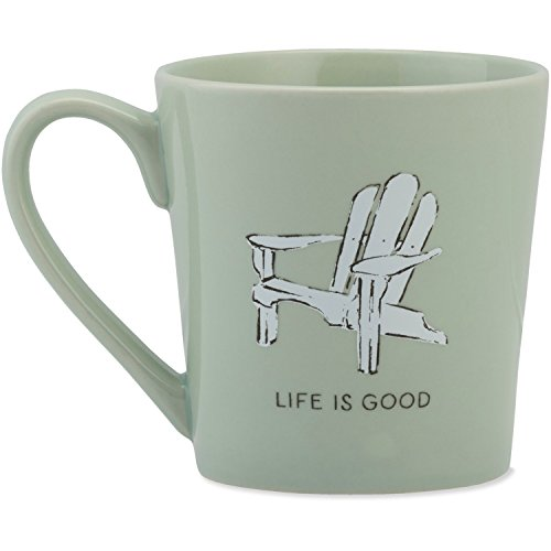 Life is good Everyday Mug Adirondack Lig Sunglasses, Minty Green, One - Outdoor Life Sunglasses