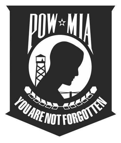 JS Artworks Pow Mia Shield Vinyl Sticker Decal