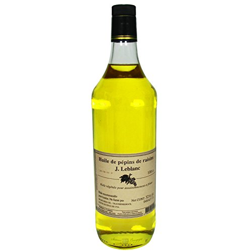 French Grapeseed Oil by Huilerie J. Leblanc