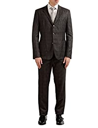 Nowis/Beat Men's Wool Three Button Suit US 40R IT 50