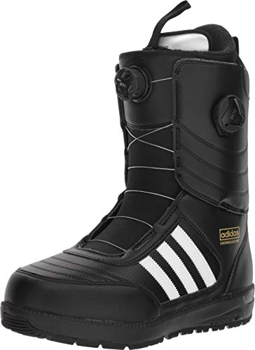 adidas Skateboarding Men's Response ADV Snow Boot '18 Black 9 D US D (M) (Best Soccer Boots 2019 18)