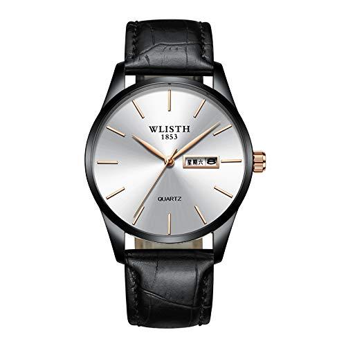 HWCOO Relojes mecánicos Reloj 2018 de los Hombres mira el Reloj de los Hombres del Reloj