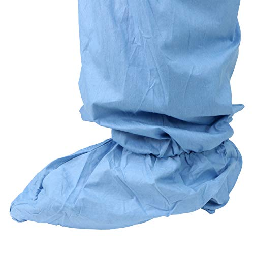 West Chester 3109/XL Posi FR Coverall Hood, Boot, Elastic Wrist & Ankle, XL, Blue (Box of 25) by West Chester (Image #2)