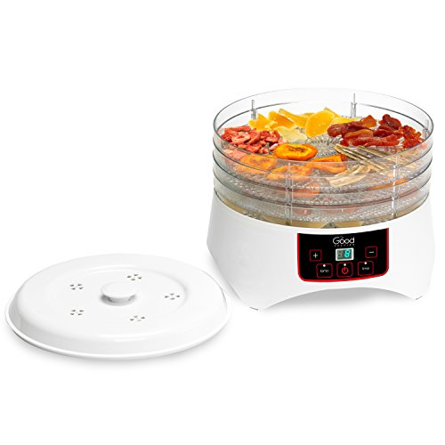 Dehydrator-Electric-Professional-Grade-Food-Dehydrator-with-Four-Trays-By-Good-Cooking-Dries-30-Faster