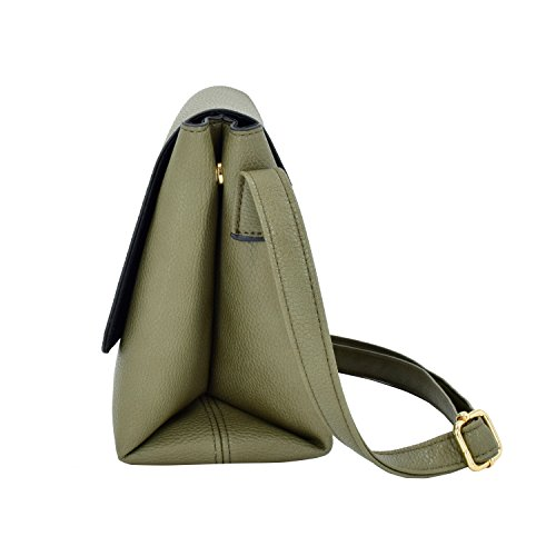 Crossbody ESA Bags Khaki Medium Womens women for Shoulder Satchel for Purse Travel Bag qqwTfr