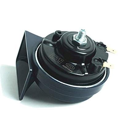 SoundOriginal DL168-A 500Hz Loud One Car Hron 12 Volt High Tone Horn Electric Horn for Golf Truck Car Motorcycle etc. (Blue High): Automotive