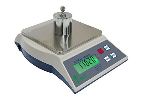 Precision Digital Gram Scale Balance KMR6000 Ideal for Laboratory, Industrial, Pharmacy, Gold and Jewellery Use, Accurate High Resolution Sensitive Weighing Scales with 1 Gram Resolution and Huge 6000 Gram Capacity, Portable for Ultimate Ease of Use in the Lab and the Field, the KMR6000 by Tree is the Perfect Combination of Quality and Accuracy for Professional, Scientific and Other Analytical Needs.