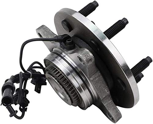 Bodeman 4WD Models ONLY Pair 2 Front Wheel Hub /& Bearing Assembly w//ABS for 2003 2004 2005 2006 Ford Expedition//Lincoln Navigator
