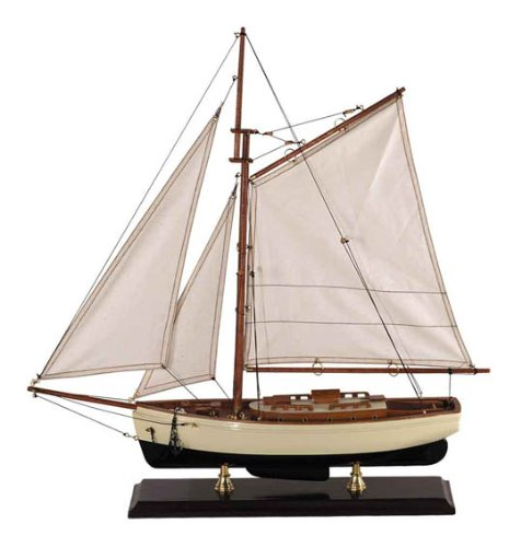 (Authentic Models Classic 1930s Yacht, Small)