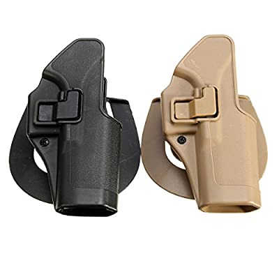Tactical Concealment Holster Right Hand Case Bag Tactical Simulation Sets For Glock 17 (Random: Color)