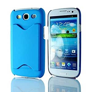 WEV Fashion Pattern Hard PC Case with Card Slot for Samsung Galaxy S3 I9300